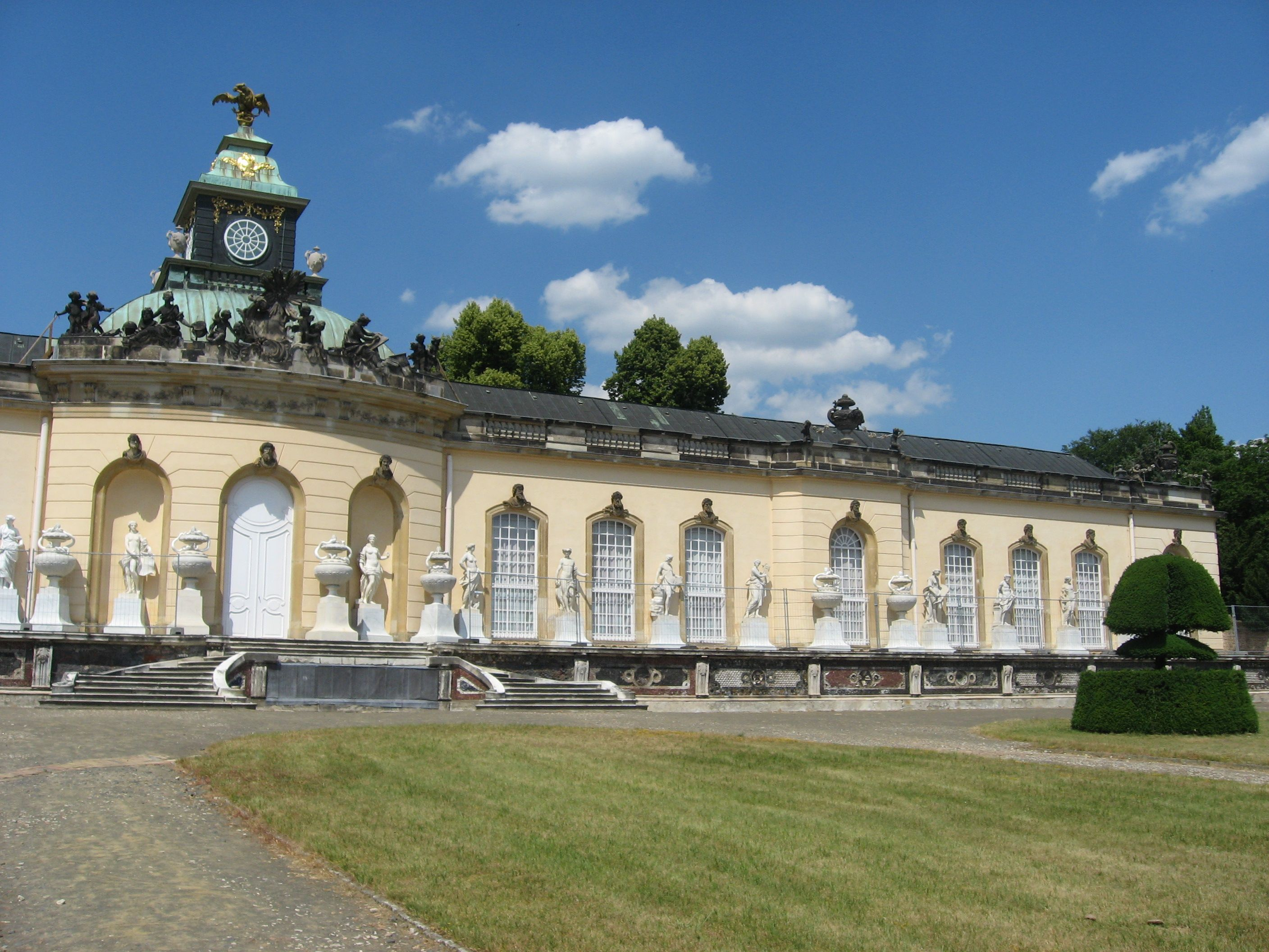 Sanssouci Potsdam building